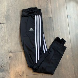 stripped adidas leggings